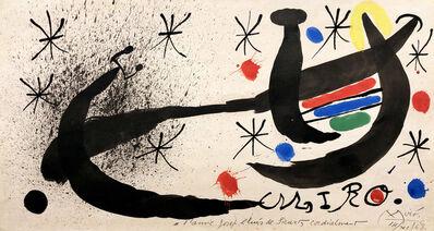Joan Miró, 'Composition', 1969