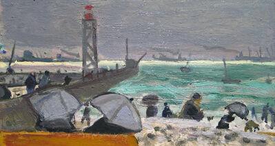 Bernard Lamotte, 'Stormy Harbor', 20th Century