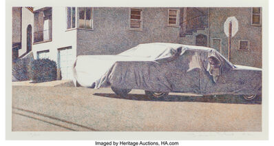 Robert Bechtle, 'Covered Car-Missouri Street', 2002
