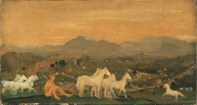 Arthur Bowen Davies, 'Horses of Attica', After 1910