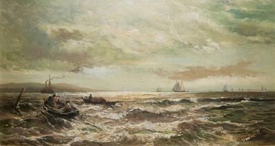 Mauritz Frederik Hendrik de Haas, 'Harbor Scene', Date unknown