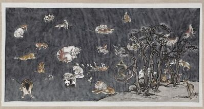 Yang Jiechang 杨诘苍, 'Tale of the 11th Day - Blue 1', 2011