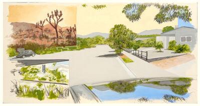 William Leavitt, 'Garden, Joshua Trees, Street, Reflection', 2020