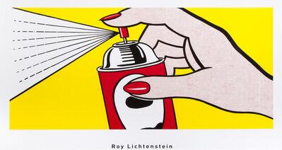 Roy Lichtenstein, 'Spray', 1962