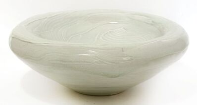 Joanna Howells, 'a celadon moulded bowl, of circular form, with a concave moulded centre'