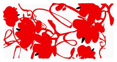 Donald Sultan, 'Lantern Flowers, Feb 18, 2012', 2012