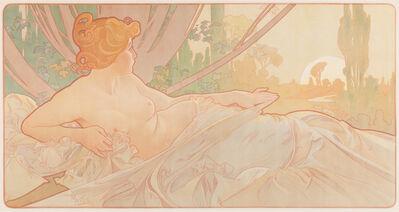 Alphonse Mucha, 'Dawn', 1899