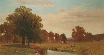 George Henry Smillie, 'Trees and Meadows of Berkshire', 1871