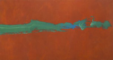 Cleve Gray, 'Green Thrust', 1993
