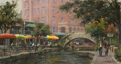 John Pototschnik, 'Lunch Along the Riverwalk', 2016