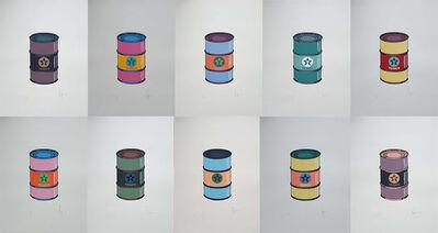 Beejoir, 'Oil Cans (Set of 10)', 2009