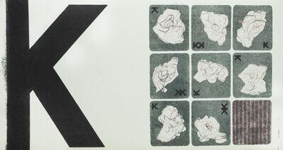 Geta Bratescu, 'K', 1975