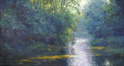 Thomas McNickle, 'SUNLIGHT ACROSS THE SOUTH YADKIN (NEAR STATESVILLE)', 2009
