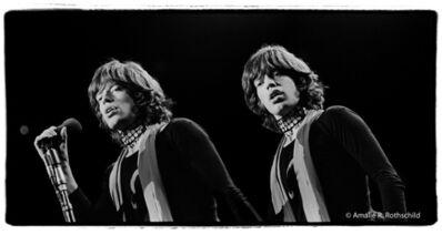 Amalie R. Rothschild, Jr., 'Double Mick Jagger at Madison Square Garden, November 27, 1969', 1969