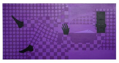 Jon Key, 'The Man in the Violet Suit No. 14 (Violet Bedroom)', 2020