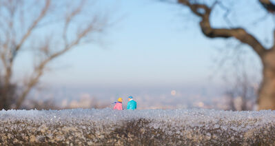 Slinkachu, 'January', 2015