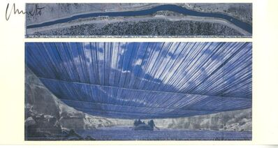 Christo, 'Over the River (Hand Signed)', 2005