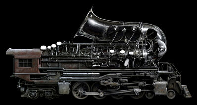 Jeff Bartels, 'Brass Locomotive', 2018