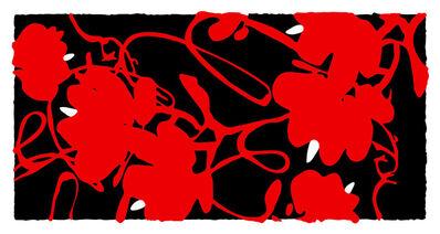 Donald Sultan, 'Lantern Flowers, Feb 17, 2012', 2012