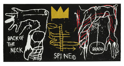 Jean-Michel Basquiat, 'Back of the Neck', 1983