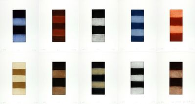 Sean Scully, 'Ten Towers', 1999