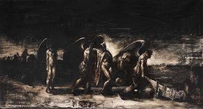 Adrian Ghenie, 'Fallen Angel', 2001