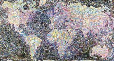 Paula Scher, 'World Trade', 2010