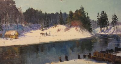 Aleksandr Nikiforovich Chervonenko, 'A winter day', 1957