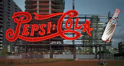 David Leventi, 'Pepsi-Cola Sign, Gantry Plaza State Park, Long Island City, New York', 2013
