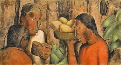 Alfredo Ramos Martínez, 'Vendedora de Mangos', ca. 1938