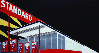 Vik Muniz, 'Standard at Night From Pictures of Cars (After Ruscha)', 2008
