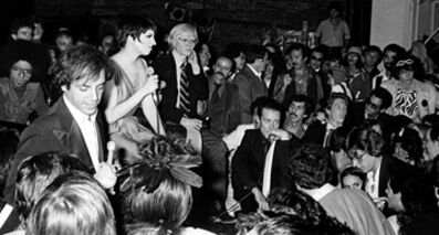 Ron Galella, 'Steve Rubell, Liza Minelli, Andy Warhol, Halston and friends', 1978