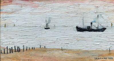L.S. Lowry, 'Coal Boat', 1952