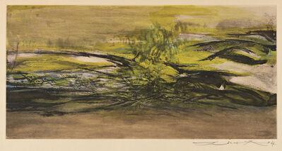 Zao Wou-Ki 趙無極, 'Sans titre', 1967