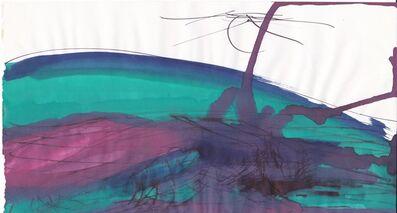 Dora Maar, 'Untitled [Blue, Green and Violet Landscape]', 1950-1960