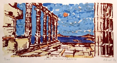 Herbert Siebner, 'Cape Sunion, Greece', 1982