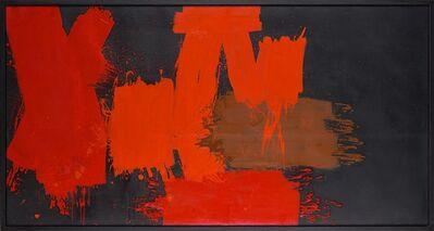 Markus Prachensky, 'Rouges différents sur noir – Liechtenstein', 1956-1957