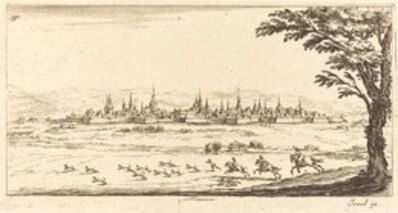 after Jacques Callot, 'View of Nancy', in or after 1635