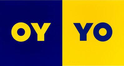 Deborah Kass, 'OY-YO (2 Panels)', 2020