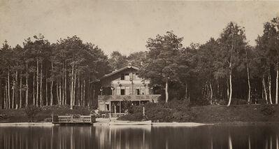 Charles Marville, 'Chalet des îles, Bois de Boulogne', 1858/1858