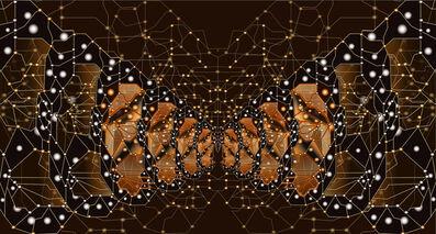 Jean-Claude Meynard, 'Fractal Monarch Butterfly  分裂·黑脉金斑蝶', 2014