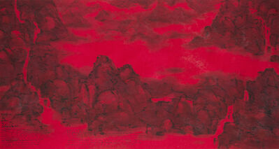 The Master of the Water, Pine and Stone Retreat 水松石山房主人, 'Adrift on an Ocean of Cinnabar', 2015