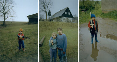 Jitka Hanzlová, 'Untitled (Peter and Ball), Untitled (Cyril and Patrick), Untitled (The Good Will Win) Set of 3', 1993