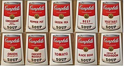 Andy Warhol, 'Campbell's Soup Portfolio I', 1968
