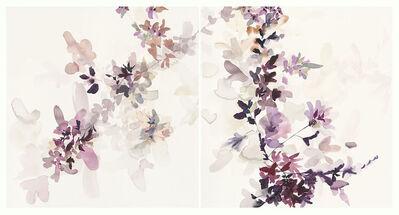 Jen Garrido, 'Wildflower Study Lilac and Smoke 1', 2018