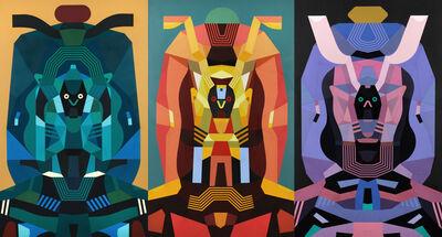 Raymond Lemstra, 'Triptych', 2016