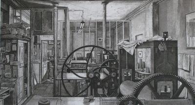 Erik Desmazières, 'Atelier René Tazé VII, 2006', 2006