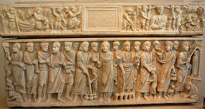 'The Sarcophagus of Marcus Claudianus from San Giacomo in Settimiana', ca. 330