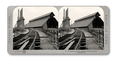 Jeff Brouws, 'Stereograph 149 (Ohio) from American Industrial Heritage Series', 2015