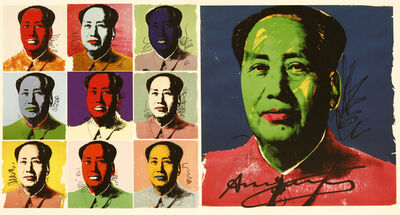 After Andy Warhol, 'Mao Announcement Card', 1972